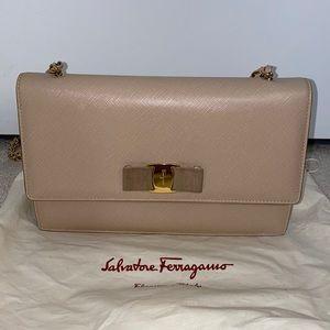 Authentic Salvatore Ferragamo Crossbody Bag